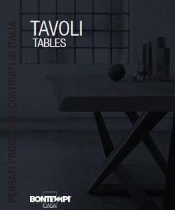 Catalogo Bontempi Tavoli